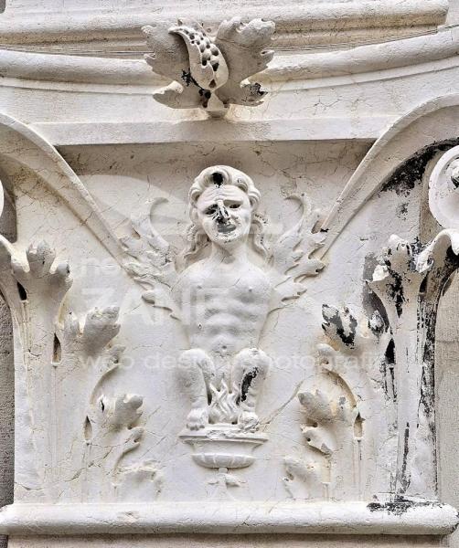 Me ciaparà fogo ea mona - Palazzo dei Camerlenghi Venezia