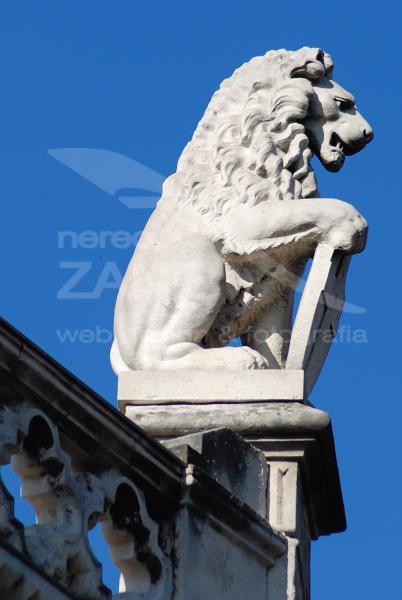 Leone di pietra - Padova