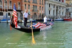 Corteo acqueo in memoria delle vittime ed eroi dell'11 settembre 2001  (11/09/2021)