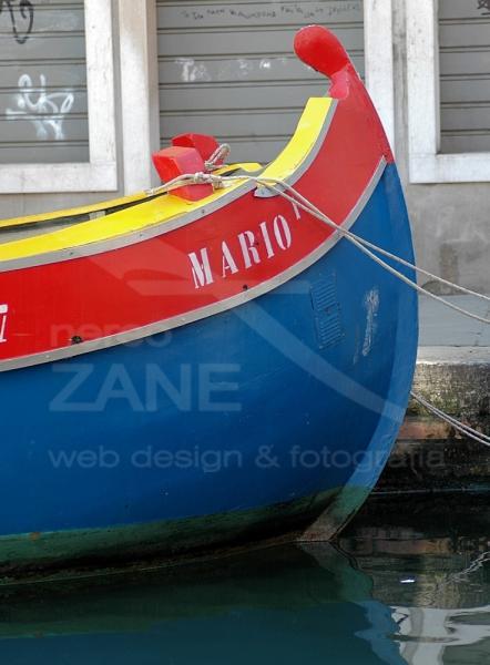 Prua del bragozzo Mario  - Fruttivendolo galleggiante - 2005