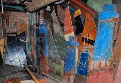Timoni di barche tradizionali - Museo Arzanà