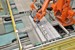 Impianto produzione celle fotovoltaiche
