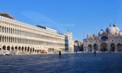 Piazza S. Marco al tempo del Covid-19 (11/2020)